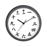 Japanese Wall Clocks