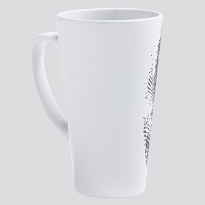 Fingerprint 17 oz Latte Mug