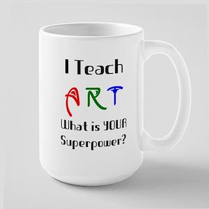 teach art 15 oz Ceramic Large Mug