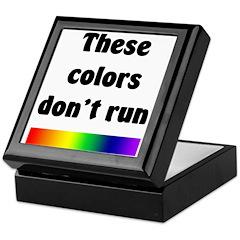 These Colors Don't Run Keepsake Box