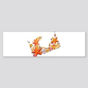 Sea Shells Bumper Sticker