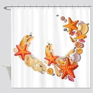 Sea Shells Shower Curtain
