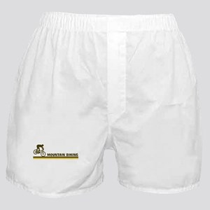 Retro Mountain Biking Boxer Shorts