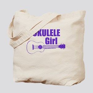 Girls Ukulele Tote Bag