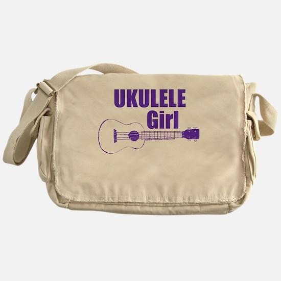 Girls Ukulele Messenger Bag