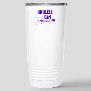 Girls Ukulele Travel Mug