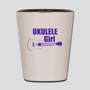 Girls Ukulele Shot Glass