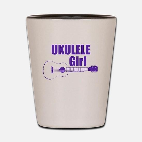 Girls Ukulele Shot Glass