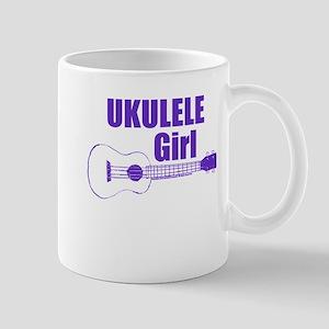 Girls Ukulele Mugs