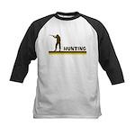 Retro Hunting Kids Baseball Jersey