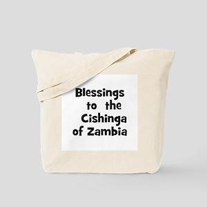 Blessings  to  the  Cishinga  Tote Bag