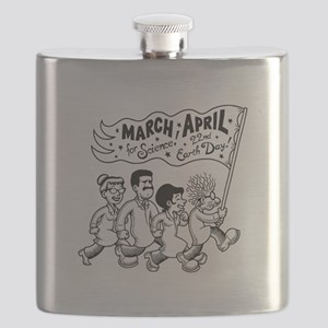 March for Science II Flask