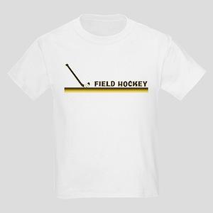 Retro Field Hockey Kids Light T-Shirt