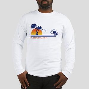 St. George Island FL Long Sleeve T-Shirt