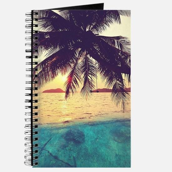 Tropical Beach Journal