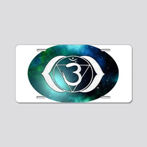 3rd Eye Chakra Aluminum License Plate