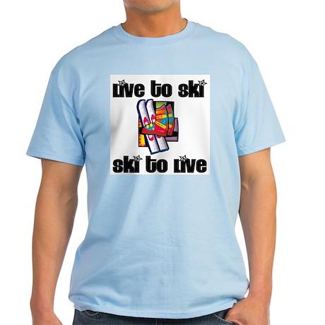 SportChick's SkiChick Live to Ski Light T-Shirt