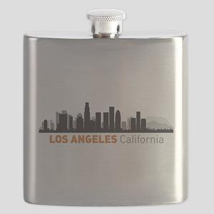 Los Angeles, Califorina Flask