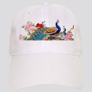Traditional Chinese Peacocks Cap