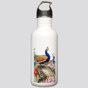 Traditional Chinese Pe Stainless Water Bottle 1.0L