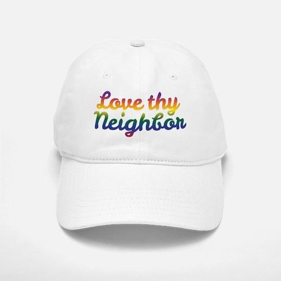 Neighbor Love Baseball Baseball Baseball Cap
