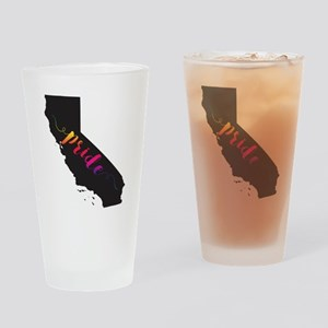 California Pride Drinking Glass