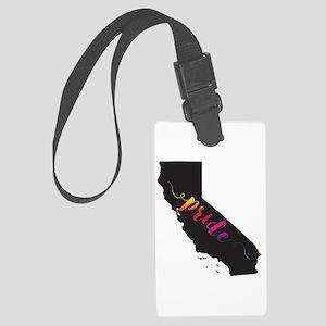 California Pride Large Luggage Tag