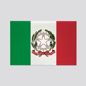 State Ensign of Italy - Bandiera Italiana Magnets