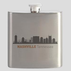Nashville Tennessee Flask