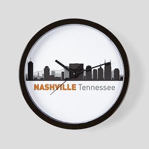 Nashville Tennessee Wall Clock