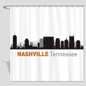 Nashville Tennessee Shower Curtain