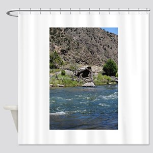Arkansas River11 Shower Curtain