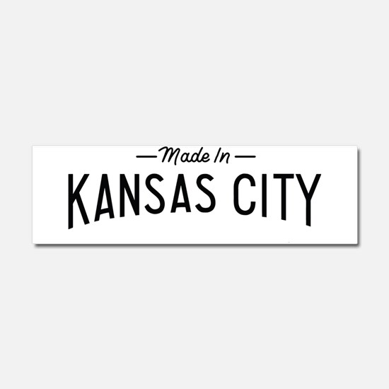Cute Kansas Car Magnet 10 x 3