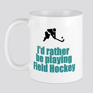 SportChick's HockeyChick Rather Mug