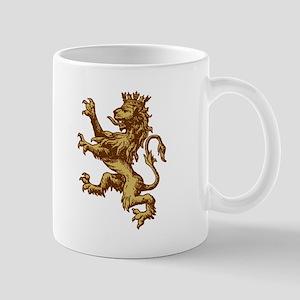 Gold Lion King Mug