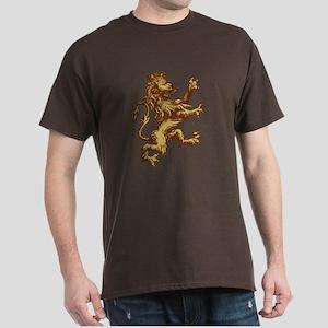 Gold Lion King Dark T-Shirt