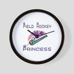SportChick's HockeyChick Princess Wall Clock