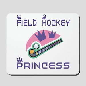 SportChick's HockeyChick Princess Mousepad