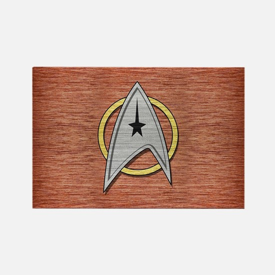 STARTREK TOS MOV METAL 1 Rectangle Magnet