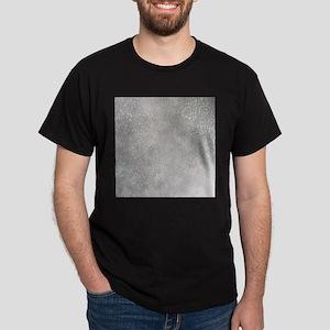 metalic pearl silver glitter T-Shirt