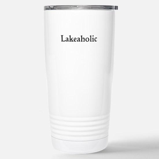 Lakeaholic Travel Mug