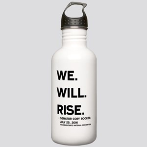 We. Will. Rise. Stainless Water Bottle 1.0L
