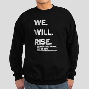 We. Will. Rise. Sweatshirt (dark)