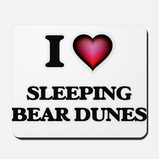 I love Sleeping Bear Dunes Michigan Mousepad