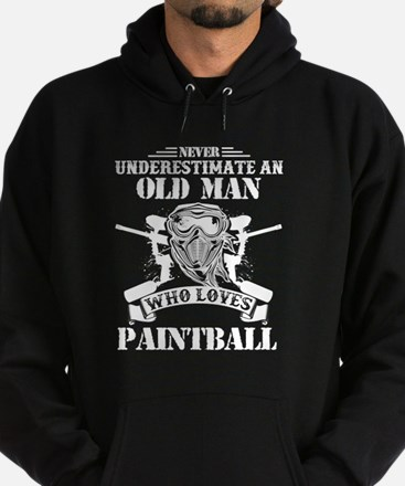 Unique Paintball Hoodie (dark)