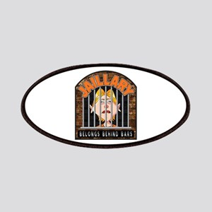 Jaillary Hillary for Prison Patch