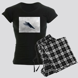 hummingbird illuminated Women's Dark Pajamas