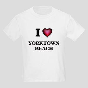 I love Yorktown Beach Virginia T-Shirt