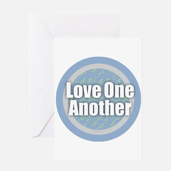 Love One Another Greeting Cards