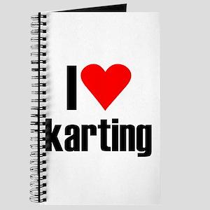 I love karting Journal